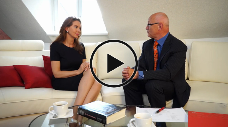Agenturchefin Felicitas Rittner im Interview mit BMW Topmanager Meng