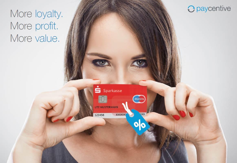 Paycentive bringt Cashback fürs Konto